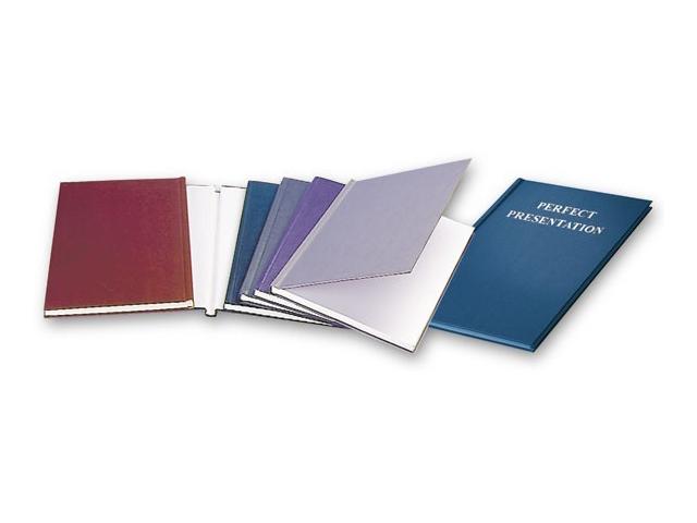 Твердая обложка O.DIPLOMAT, картон, А4, 9 мм, белая