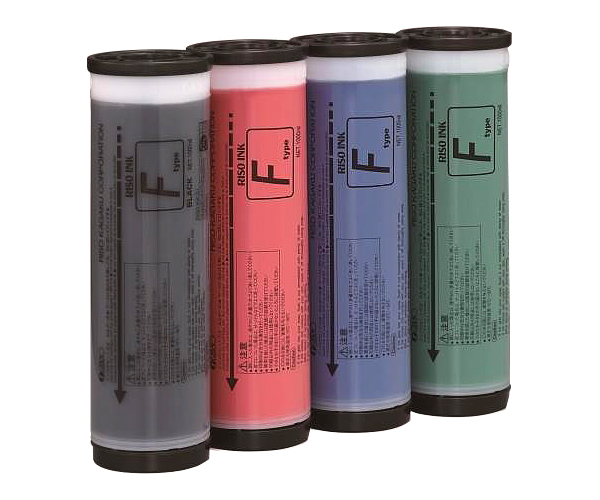 Краска флуоресцентная розовая RISO Kagaku SF F TYPE, 1000 мл (S-6945E) розовая краска матрикс
