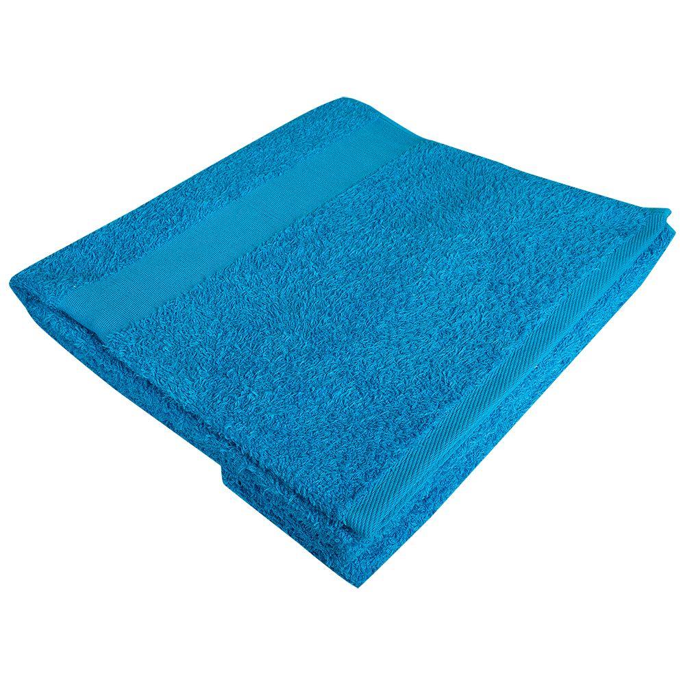 Полотенце махровое Soft Me Large, бирюзовое