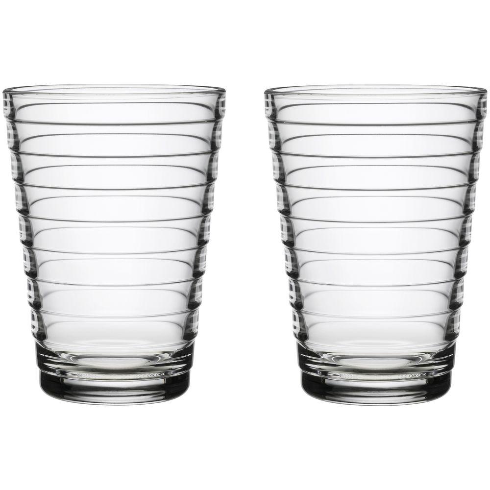 Набор больших стаканов Aino Aalto, прозрачный недорого