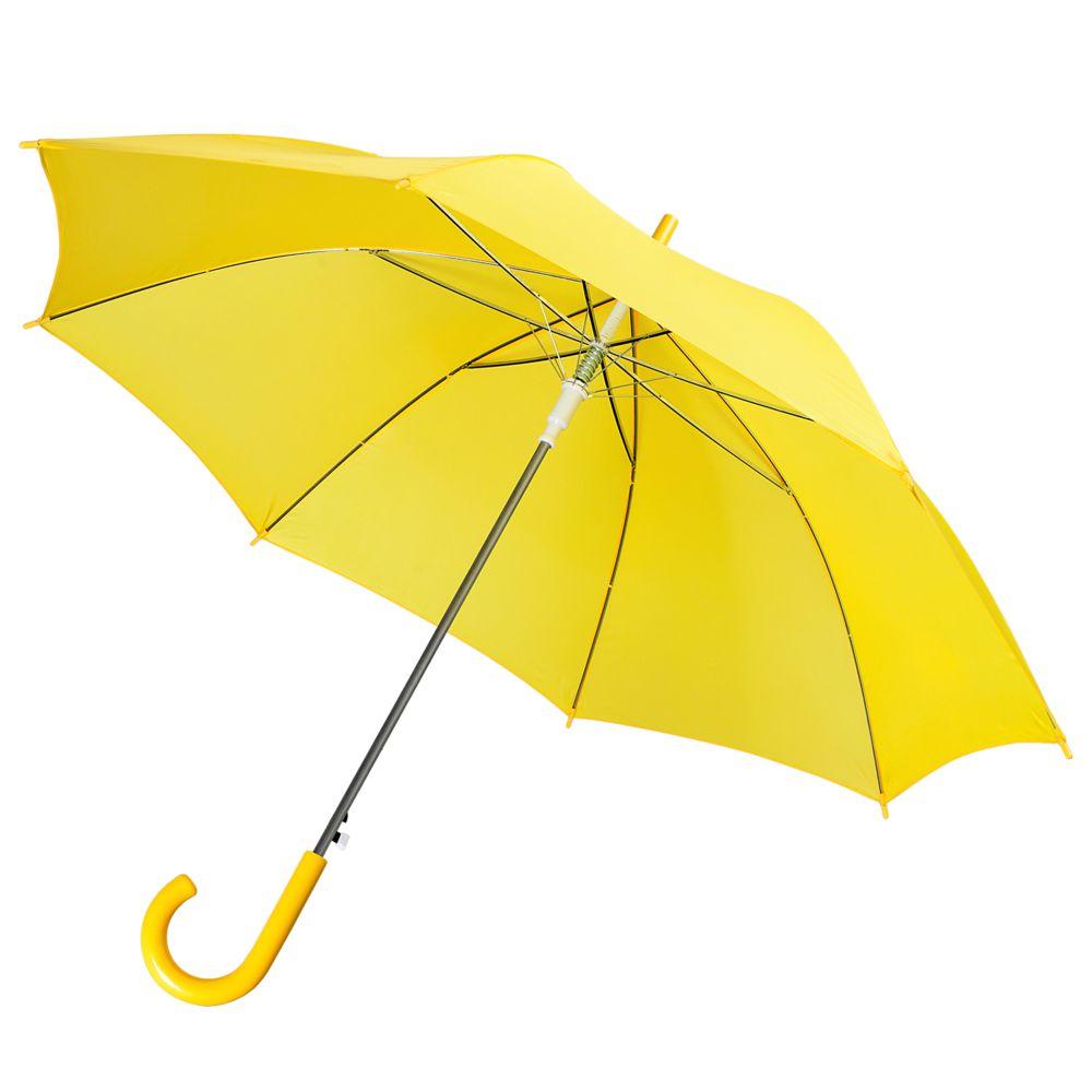 Фото - Зонт-трость Unit Promo, желтый зонт трость unit promo желтый