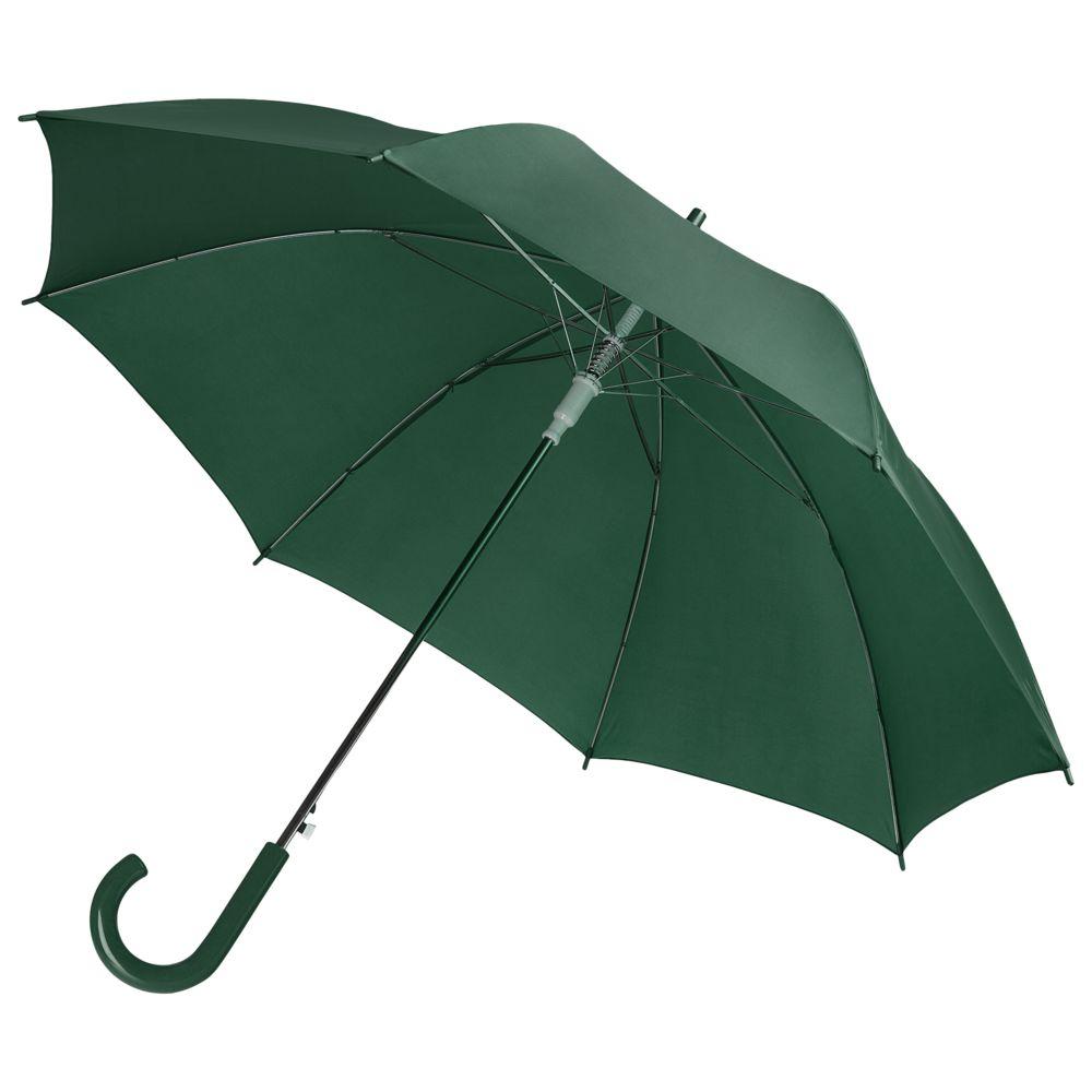 Фото - Зонт-трость Unit Promo, темно-зеленый зонт трость unit promo желтый
