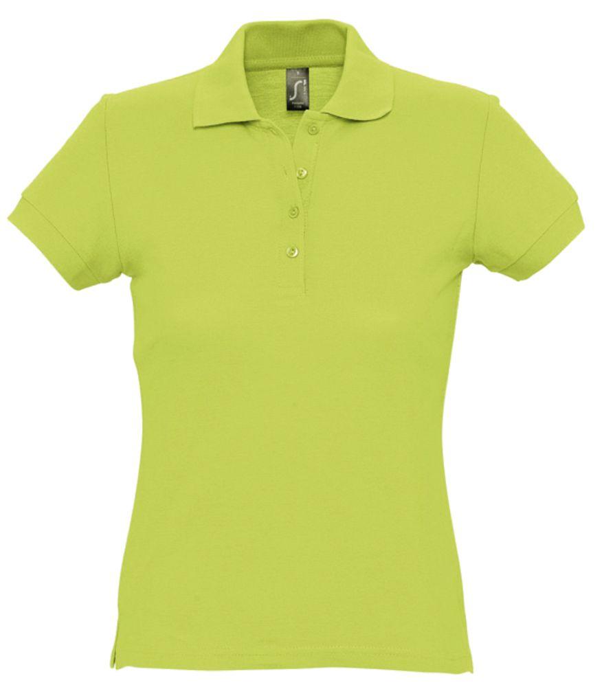 "Рубашка поло женская PASSION 170 ""зеленое яблоко"", размер S фото"