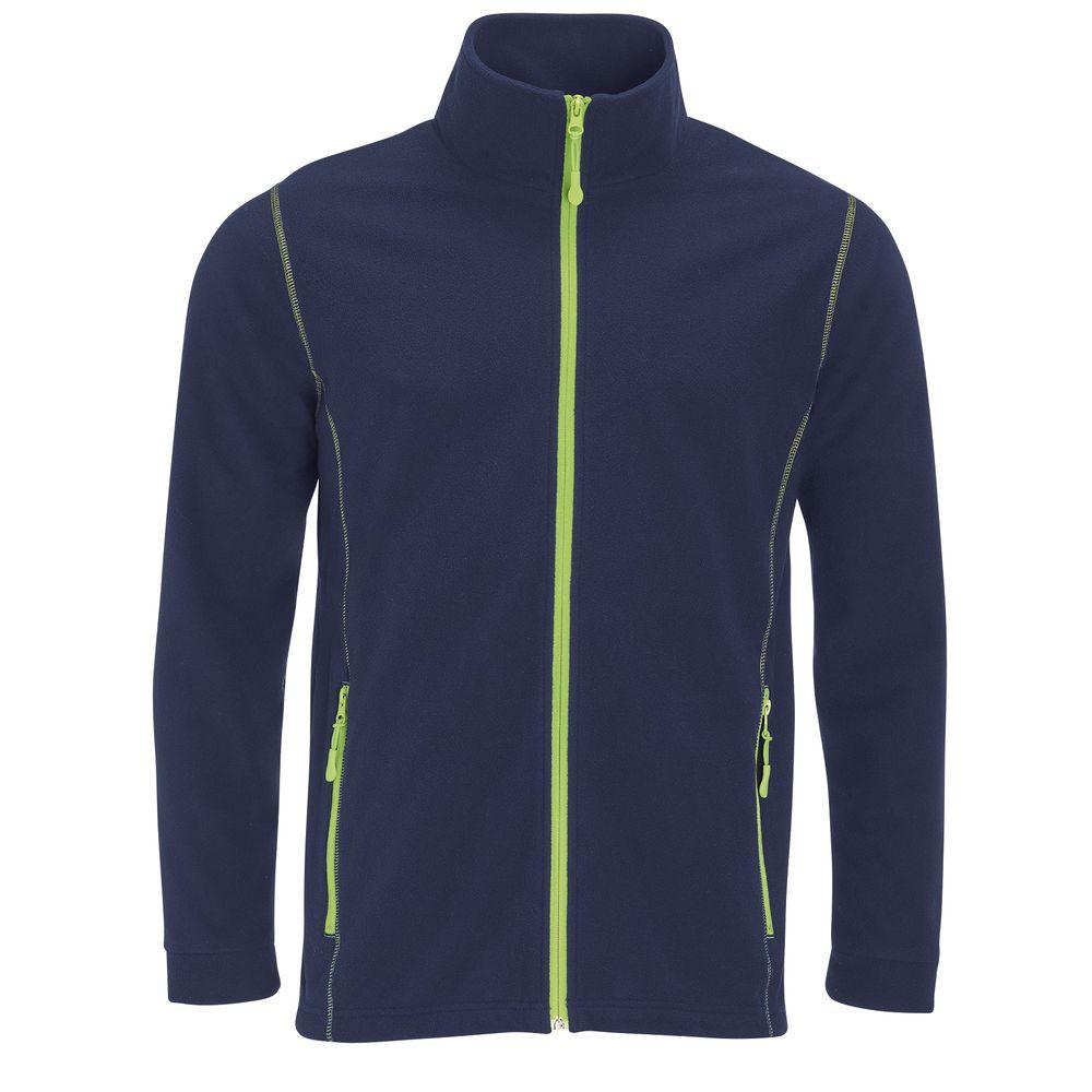 Куртка мужская NOVA MEN 200, темно-синяя с зеленым яблоком, размер M фото