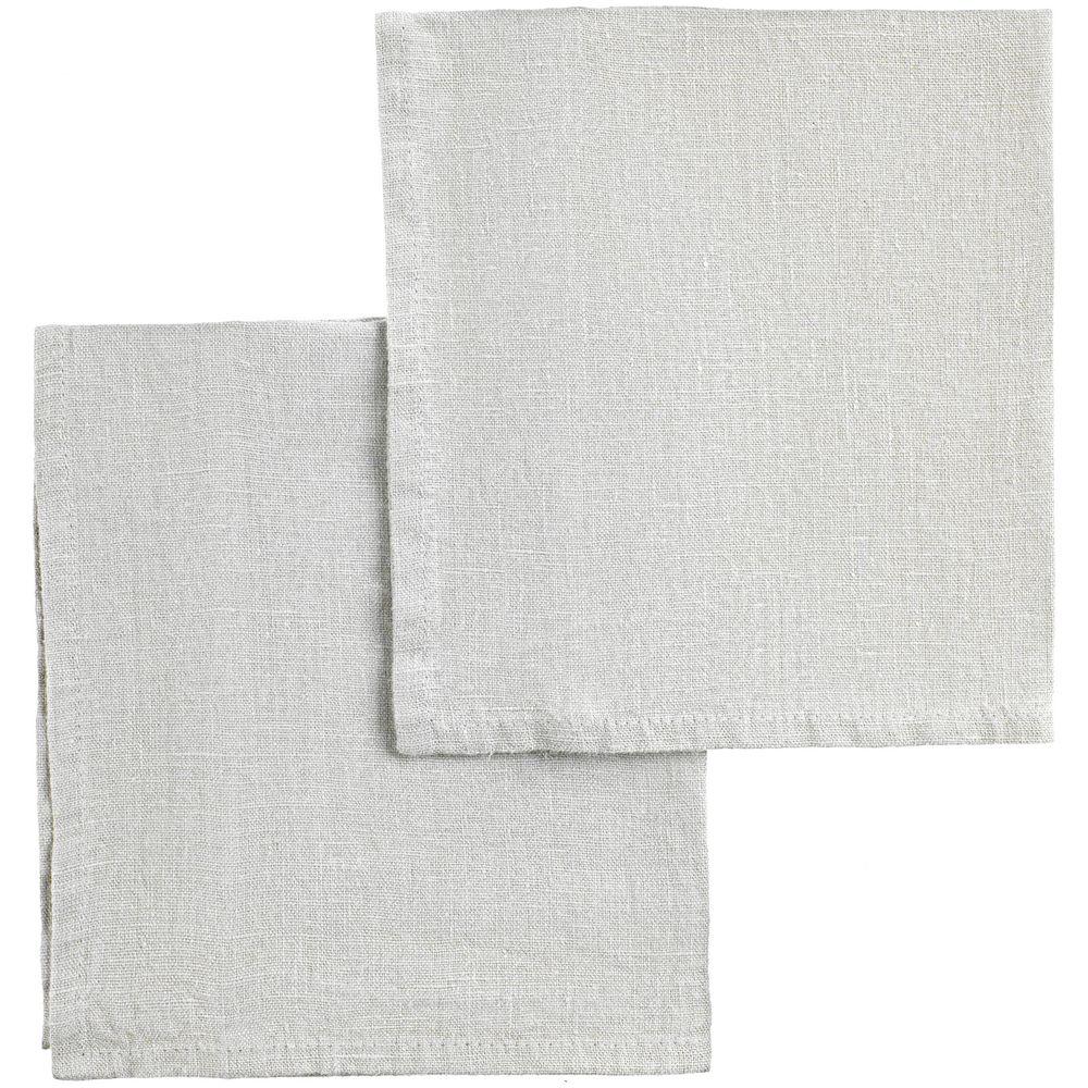 Набор салфеток Fine Line, серый набор полотенец fine line красный