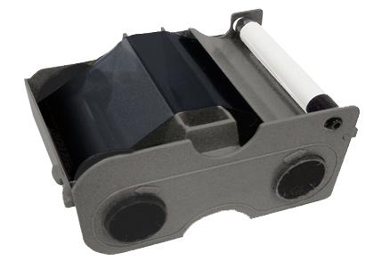 Фото - Картридж с лентой и чистящим валиком, полимерная черная лента улучшенная Fargo 45111 картридж с лентой и чистящим валиком полноцветная лента ymcko 45100