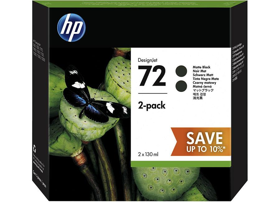 Фото - Набор картриджей HP DesignJet 72 Matte Black 2x130 мл (P2V33A) набор их 2 полукруглых бокалов 320 мл lsa international mixologist g1451 11 187