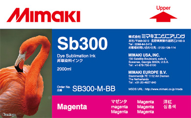 Фото - Чернила Mimaki SB300 Magenta чернила j eco subly nano ns 60200m magenta