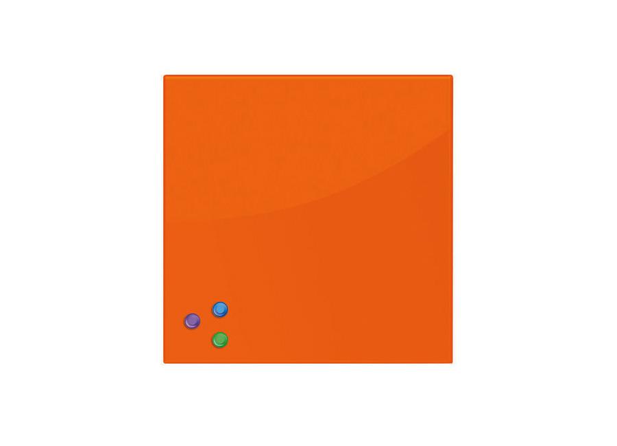 Фото - Brauberg 45x45 см, оранжевая, 3 магнита (236738) 45x45 см оранжевая 3 магнита 236738