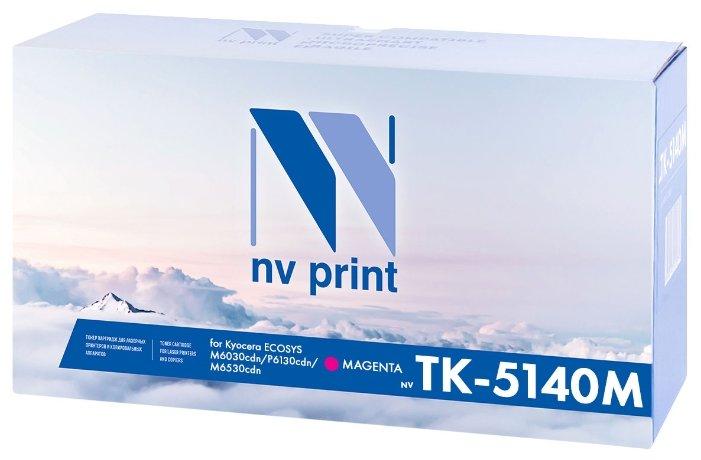 Фото - Картридж NV Print TK-5140M картридж nv print tk 5160c