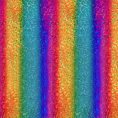 Фото - Термотрансферная пленка с металлическим блеском Фольга, мультиполоски термотрансферная пленка с металлическим блеском smtf фольга розовое золото
