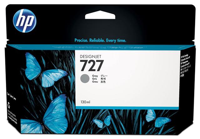 HP DesignJet 727 Gray 130 мл (B3P24A)