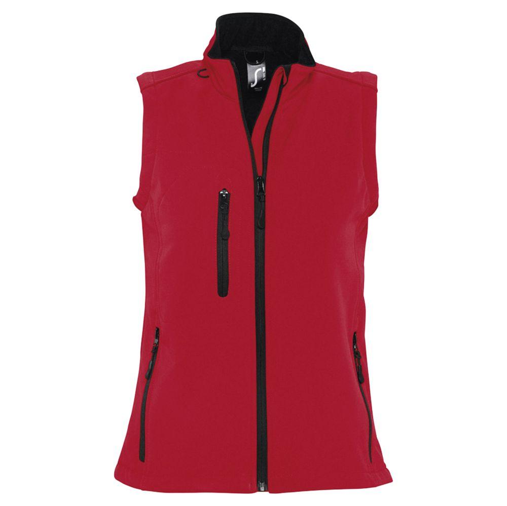 Жилет женский софтшелл RALLYE WOMEN красный, размер L жилет женский rav цвет светло бирюзовый rav02 017 размер l 48