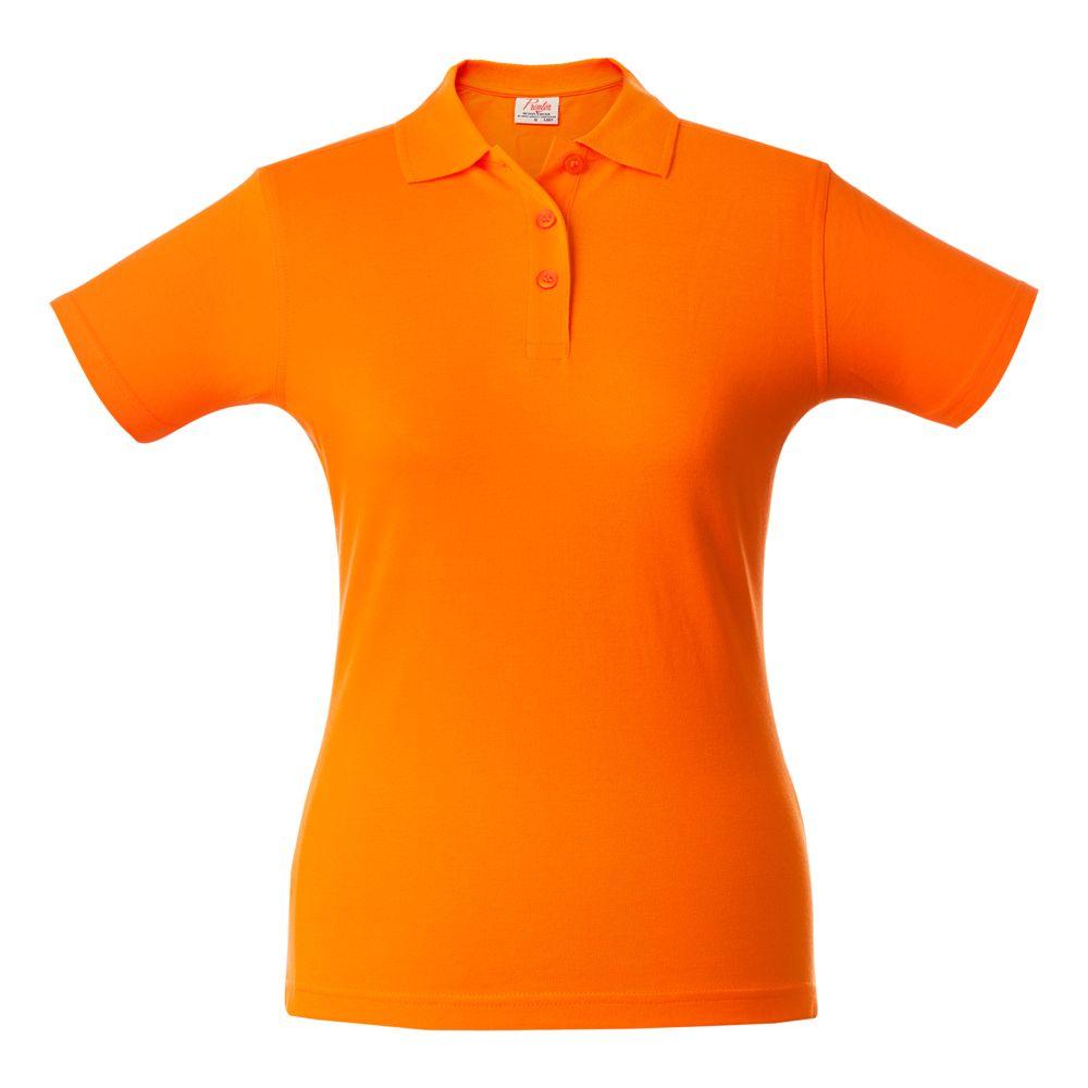 Рубашка поло женская SURF LADY оранжевая, размер XS фото