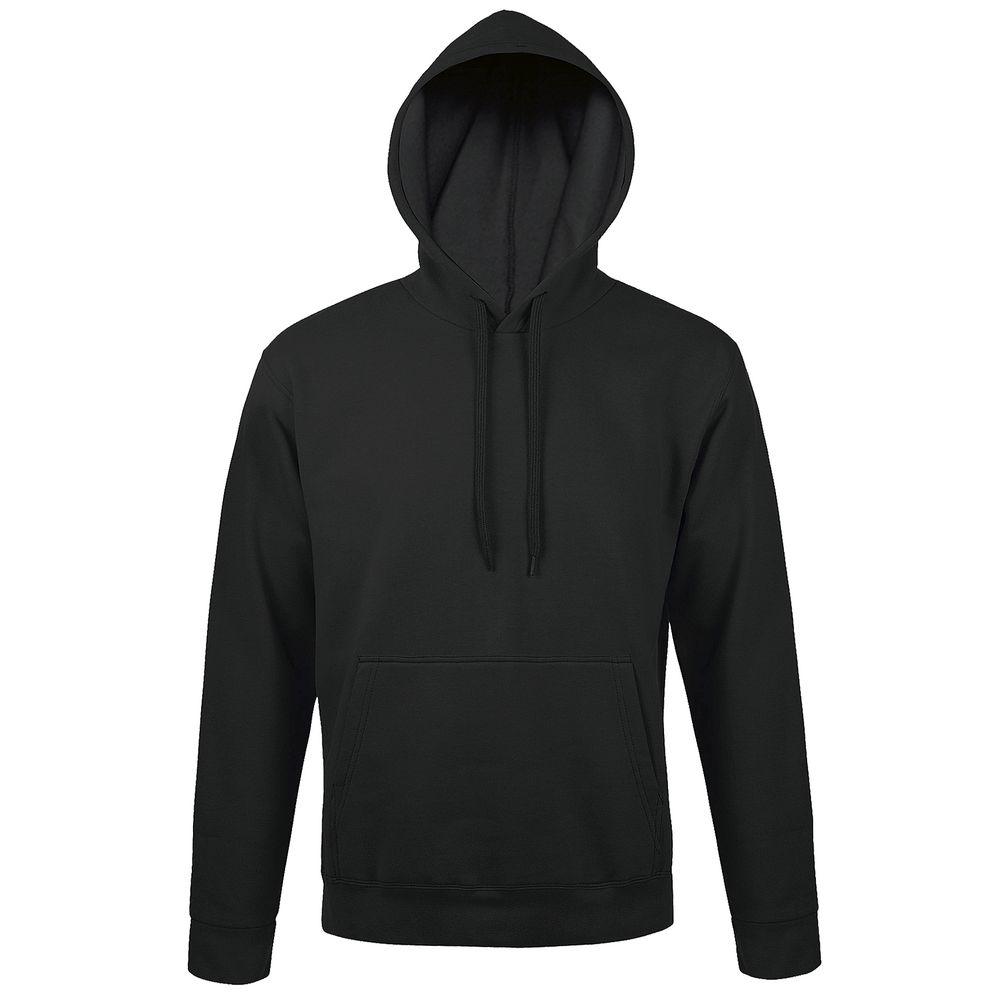 Толстовка с капюшоном SNAKE II черная, размер L фото