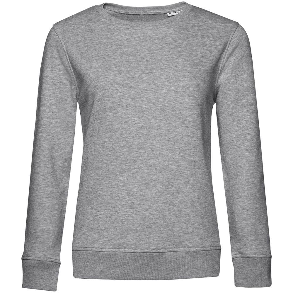 Свитшот женский BNC Organic, серый меланж, размер L