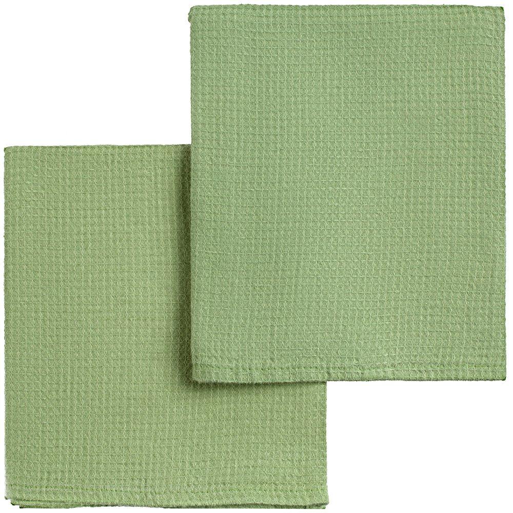 Набор полотенец Fine Line, зеленый набор полотенец fine line красный
