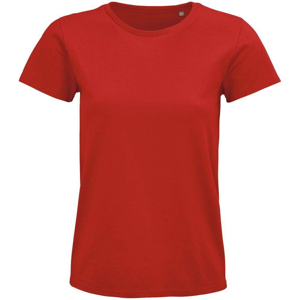 Фото - Футболка женская Pioneer Women, красная, размер L футболка женская pioneer women хаки размер l