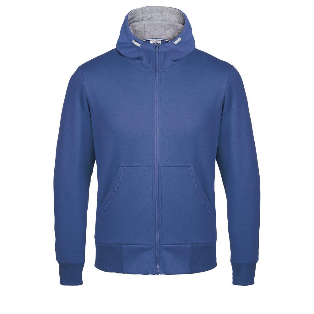 Толстовка Kulonga Heavy Zip ярко-синяя, размер XL фото