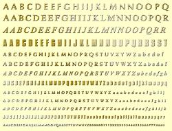 Фото - Комплект шрифтов для английского языка 9 мм игрушка полесьенабор дорожных знаков 1 64196
