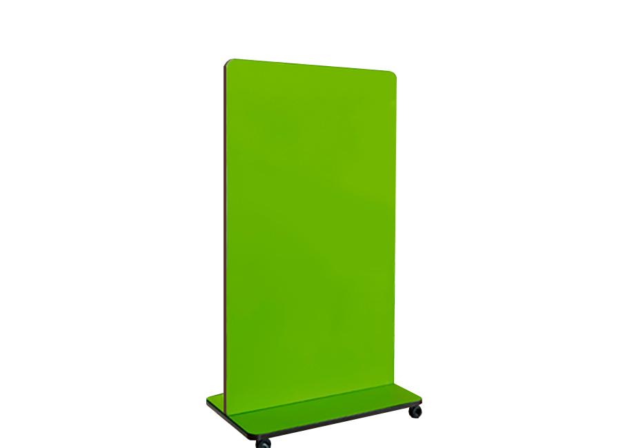 Купить Мобильная стеклянная магнитно-маркерная доска ASKELL Mobile Premium на колесах (125х170 см)