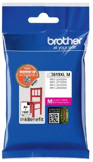 Картридж Brother LC3619XLM картридж brother lc3619xlm пурпурный magenta 1500стр для brother mfc j2330d wj3530dw j3930dw