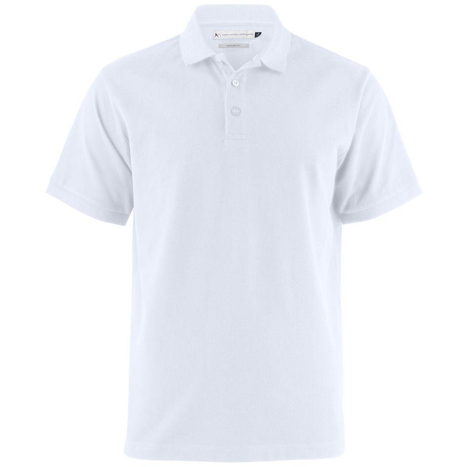 Рубашка поло мужская Neptune белая, размер 3XL