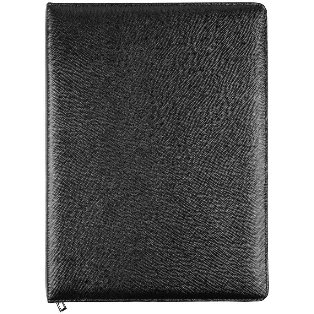 Папка для документов Linen, черная