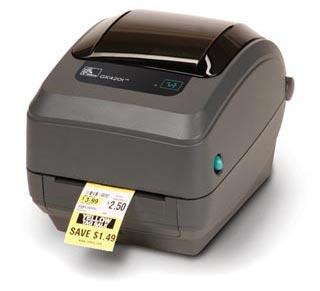 GK420t (GK42-102220-000) принтер zebra tlp2824 plus 282p 101120 000
