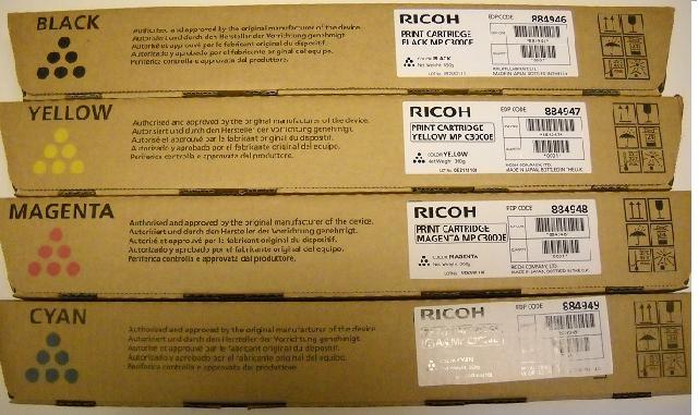 Принт-картридж Ricoh MP C3000E желтый