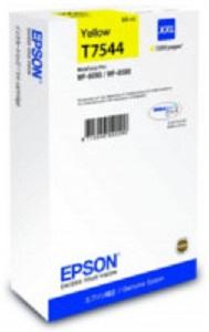 Картридж экстраповышенной емкости с желтыми чернилами T7544 для WF-8090, 8590 (C13T754440)