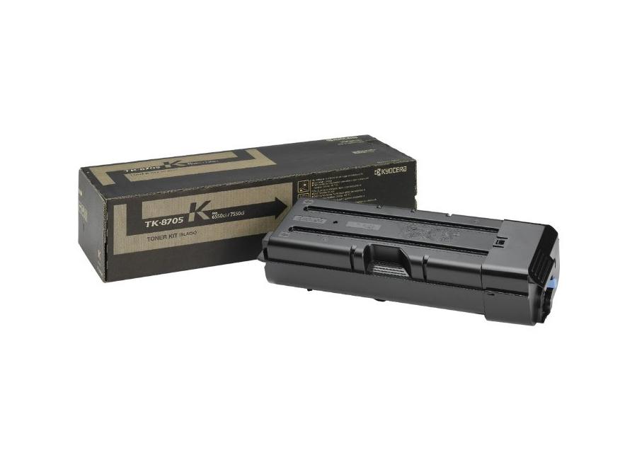 Фото - Тонер-картридж Kyocera TK-8705K тонер картридж kyocera tk 865c
