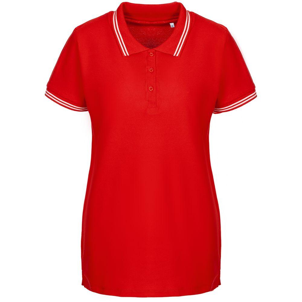 Фото - Рубашка поло женская Virma Stripes Lady, красная, размер L рубашка поло мужская virma premium красная размер l