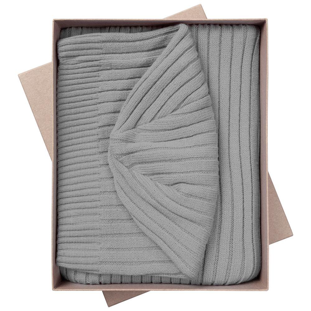 Набор Stripes: шарф и шапка, серый набор шапка и шарф детский для девочек c размером disney frozen
