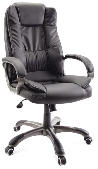 Кресло руководителя Гелеос Барон, черное