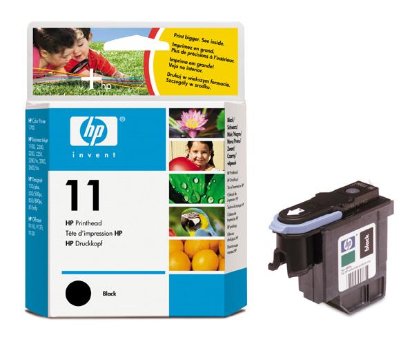 Фото - Печатающая головка HP Printhead №11 Black (C4810A) hp latex printhead cleaning kit