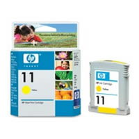 HP DesignJet 11 Yellow 28 мл (C4838A) hp designjet hd cq654b
