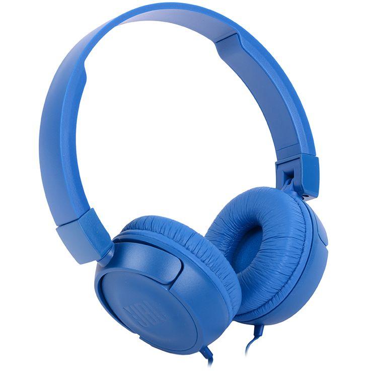 Фото - Наушники JBL T450, синие леггинсы domyos легинсы для кросс тренинга женские бесшовные черно синие 500