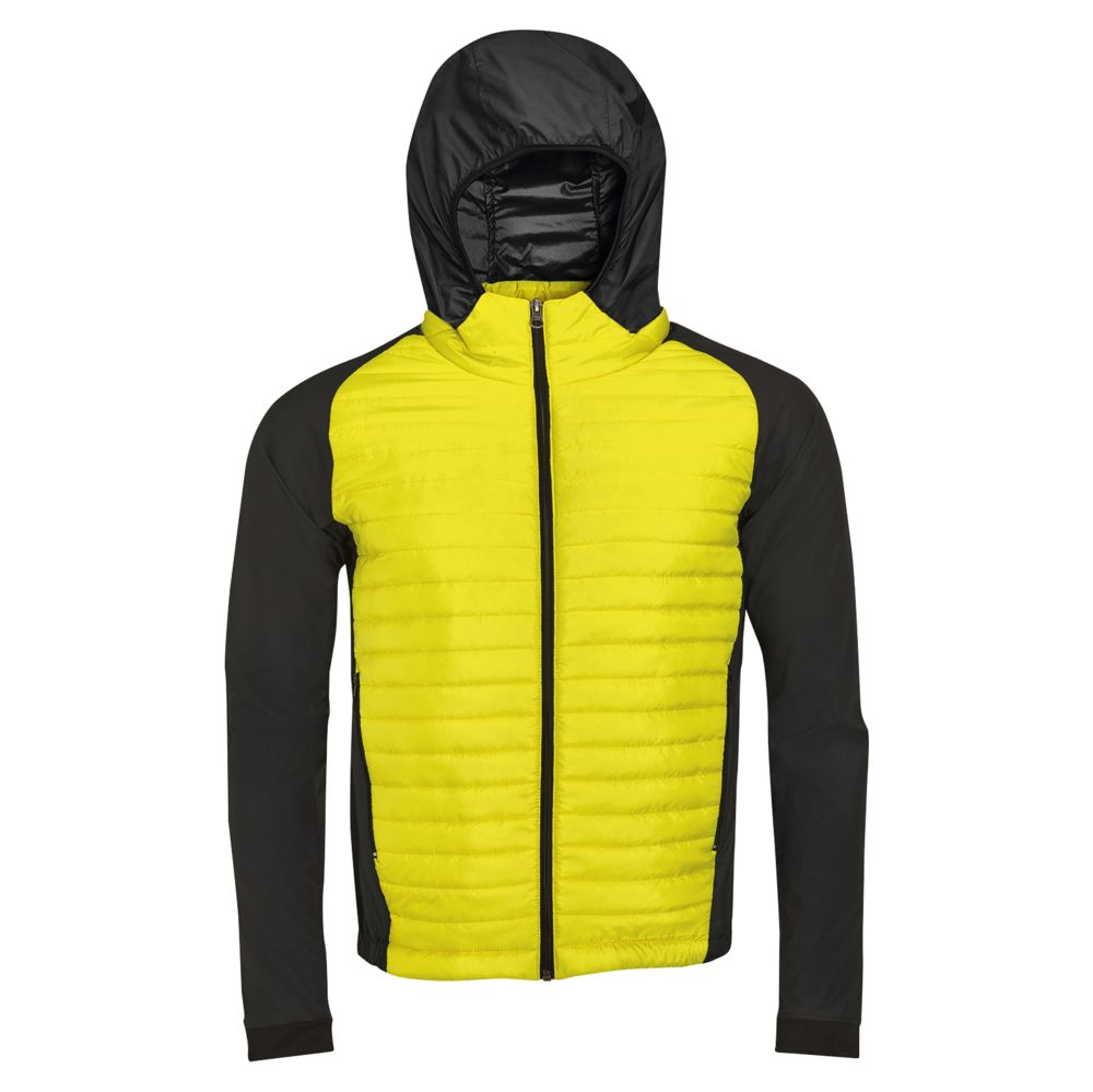 Куртка NEW YORK MEN неоновый желтый, размер M