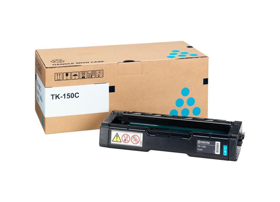 Фото - Тонер-картридж Kyocera TK-150C тонер картридж kyocera tk 50h