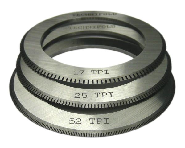 Перфорационный нож для фальцовщиков Stahl, MBO, 25 tpi, 35 мм