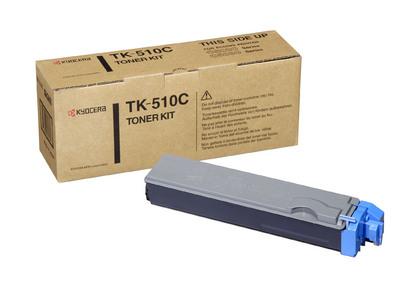 Фото - Тонер-картридж Kyocera TK-510C тонер картридж kyocera tk 50h