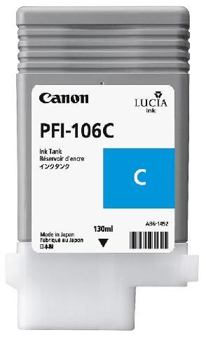 Фото - Canon PFI-106C Cyan 130 мл (6622B001) canon pfi 103gy gray 130 мл 2213b001