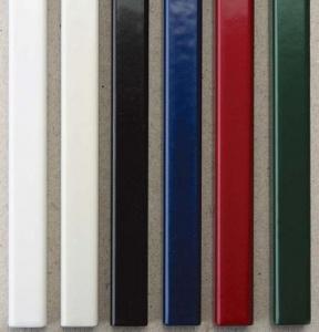 Металлические каналы O.Simple Channel 304 мм 20 мм, бордовые цветные каналы с покрытием ткань o channel а5 217 мм 24 мм черные