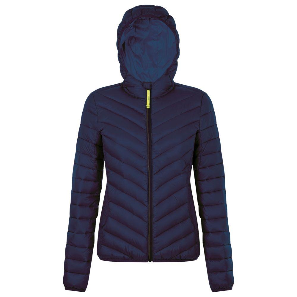 Куртка пуховая женская RAY WOMEN темно-синяя, размер XXL фото