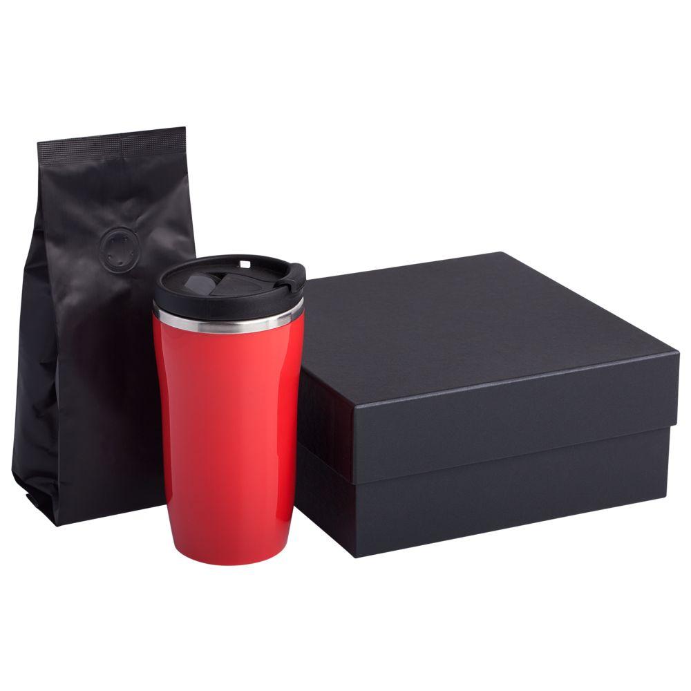 Набор Grain: термостакан и кофе, красный термостакан fixmug красный