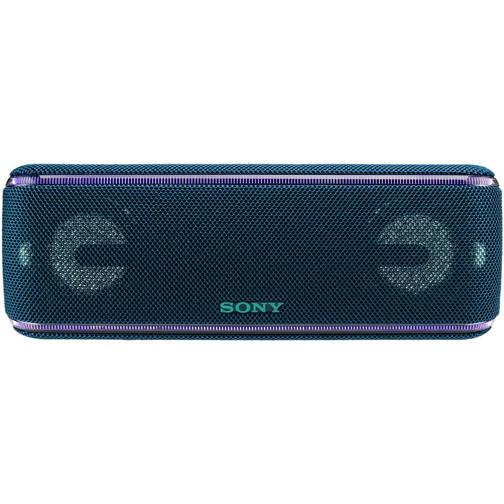 Беспроводная колонка Sony XB41B, синяя беспроводная колонка edifier mp233 white