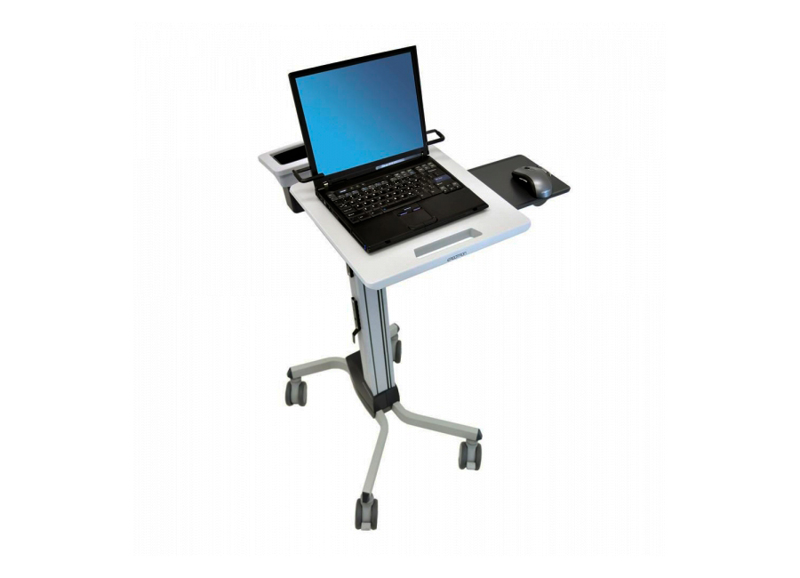 Мобильное рабочее место для ноутбука Ergotron Neo-Flex Laptop Cart (24-205-214)