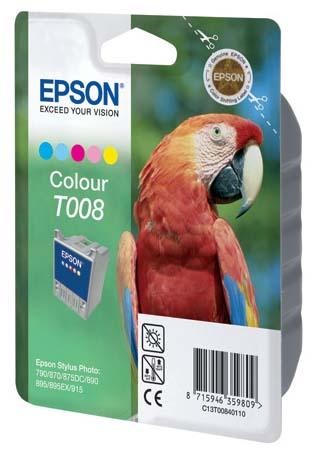 Фото - Цветной картридж Epson T008 для SP870 (C13T00840110) копилка котик цветной керамика 12х9 12 7365 13464 1
