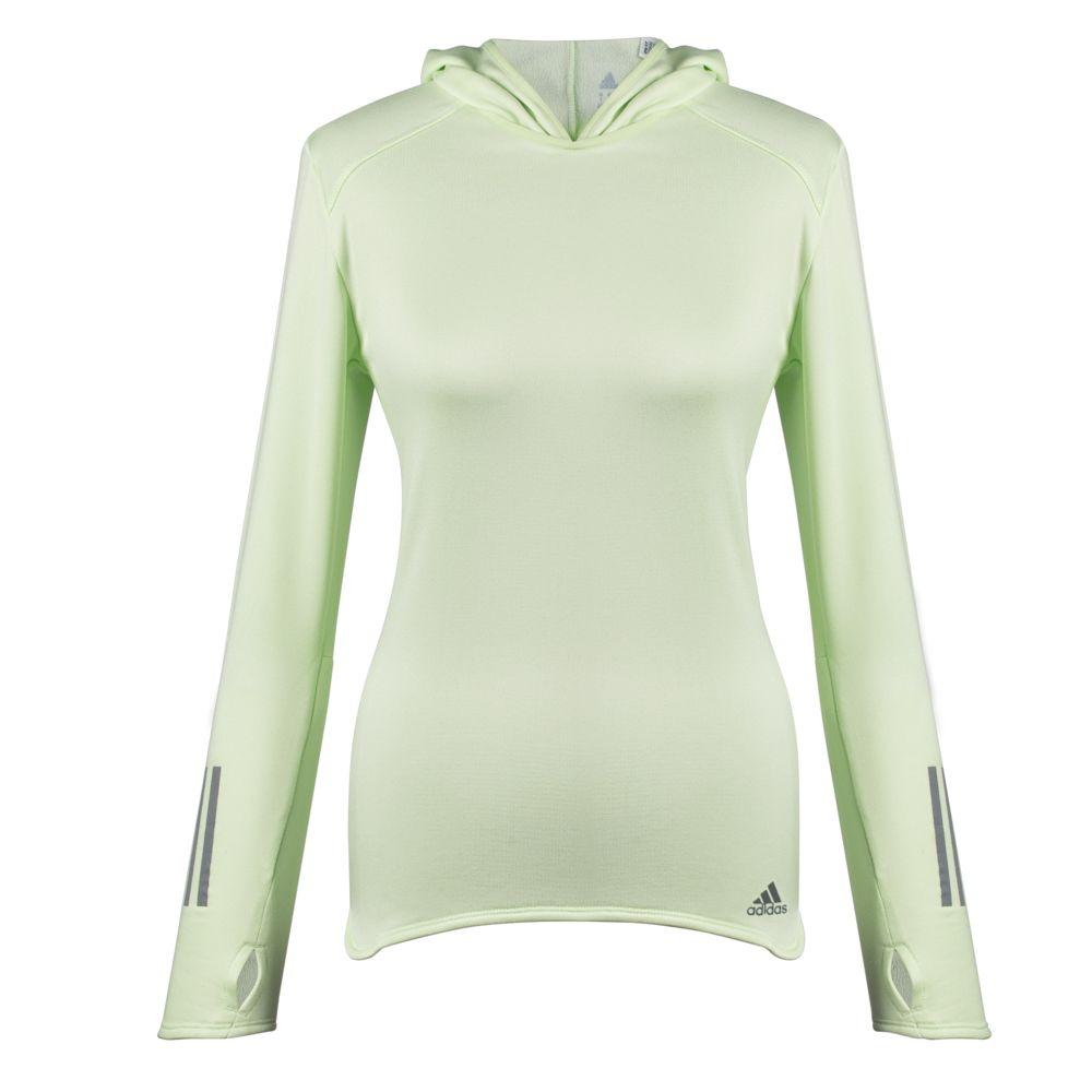 Толстовка женская с капюшоном RS Hoodie, светло-зеленая, размер L толстовка классическая женская insight feed me hoodie smu marle